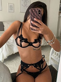 Lace Plain Three-Point Polyester Sexy Bra Sets