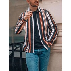 Fashion Lapel Button Spring Single-Breasted Shirt