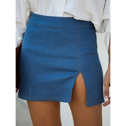 Patchwork A-Line Mini Skirt Fashion Women's Skirt