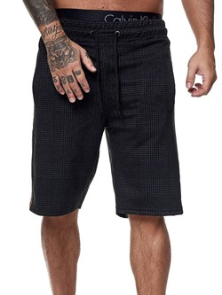 Plaid Straight Lace-Up Summer Casual Pants