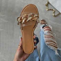 Shoespie Stylish Flat With Slip-On Toe Ring Western Slippers