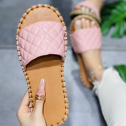 Shoespie Trendy Flat With Candy Color Flip Flop Western Slippers