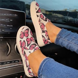 Shoespie Trendy Butterfly Thread Flat With Round Toe Plain Thin Shoes