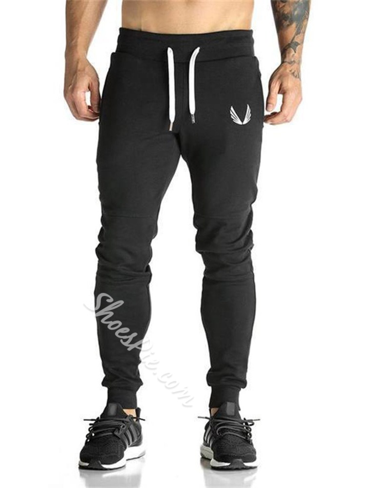 Mid Waist Lace-Up Casual Pants