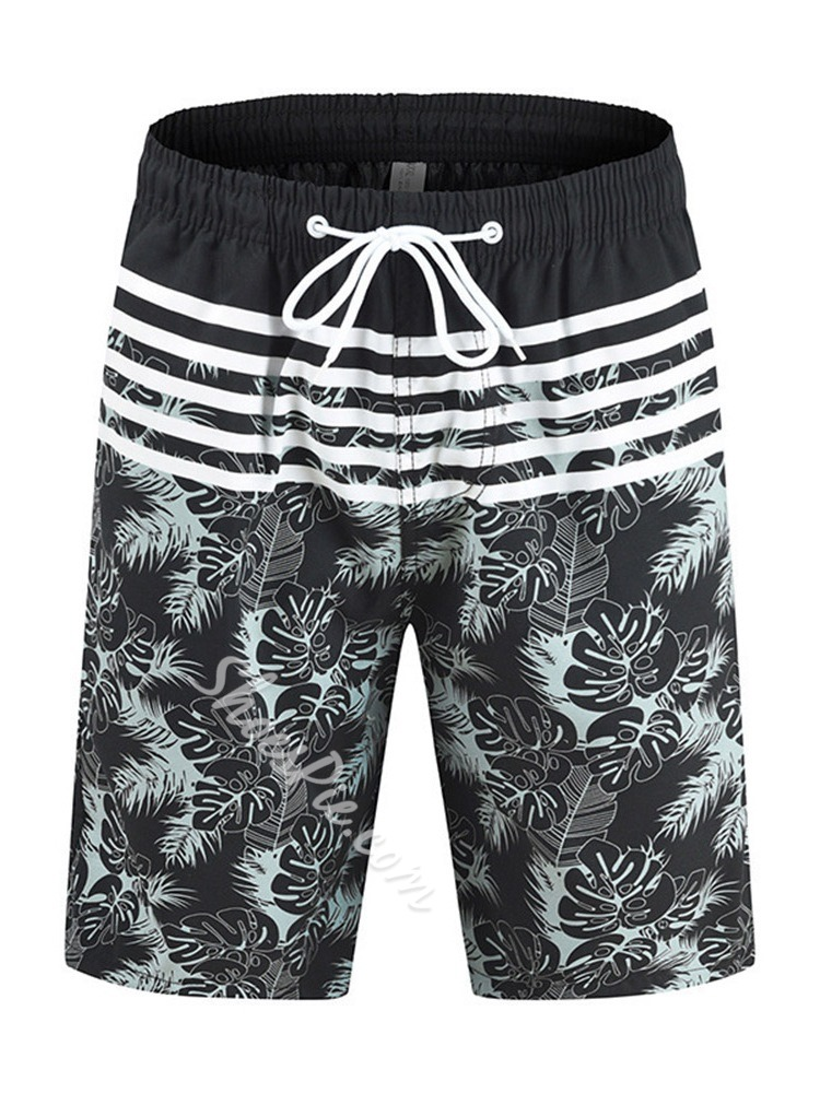 Plant Lace-Up Summer Lace-Up Casual Pants