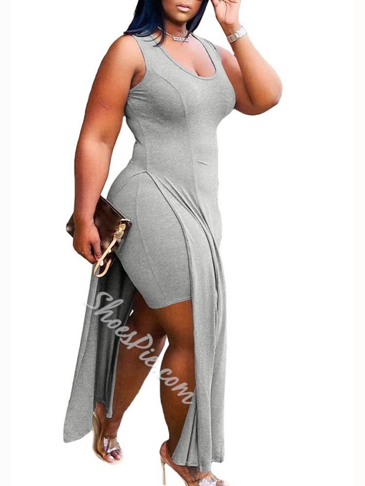 Plain Dress Sexy Pullover Women's Two Piece Sets