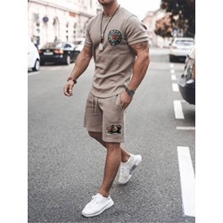 Print Casual T-Shirt Summer Outfit