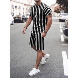 T-Shirt Stripe Casual Summer Outfit
