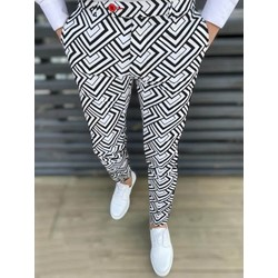 Button Pencil Pants Spring Casual Casual Pants