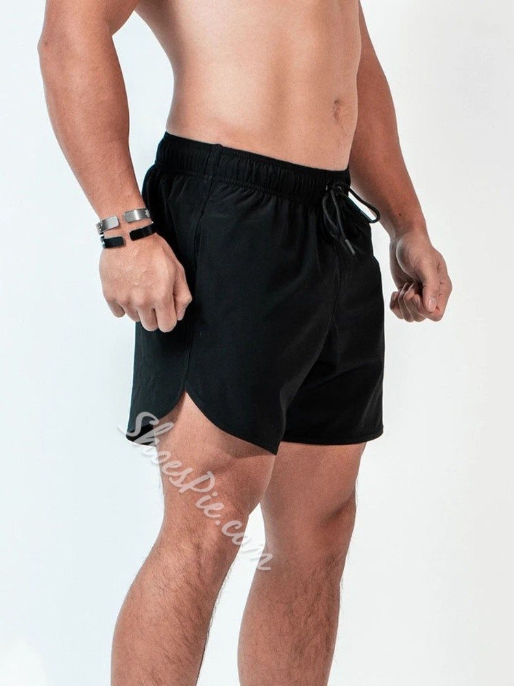 Camouflage Lace-Up Slim Mid Waist Lace-Up Shorts