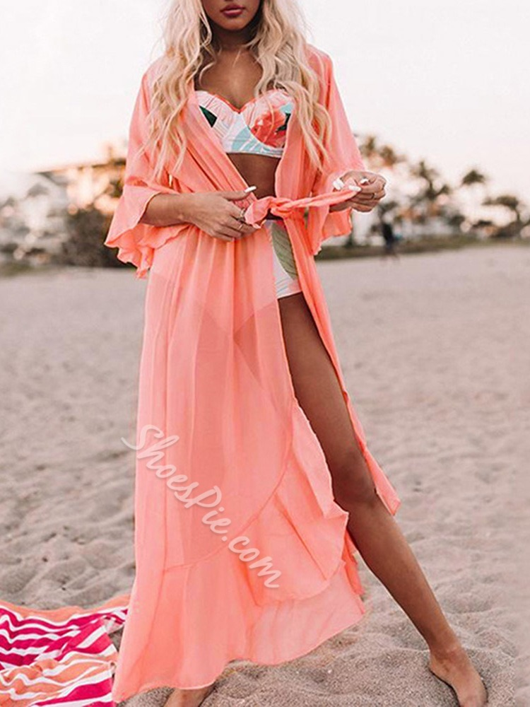 Lace-Up Lace-Up Beach Look Women's Beach Tops
