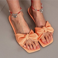Shoespie Trendy Flip Flop Slip-On Flat With Rubber Summer Slippers