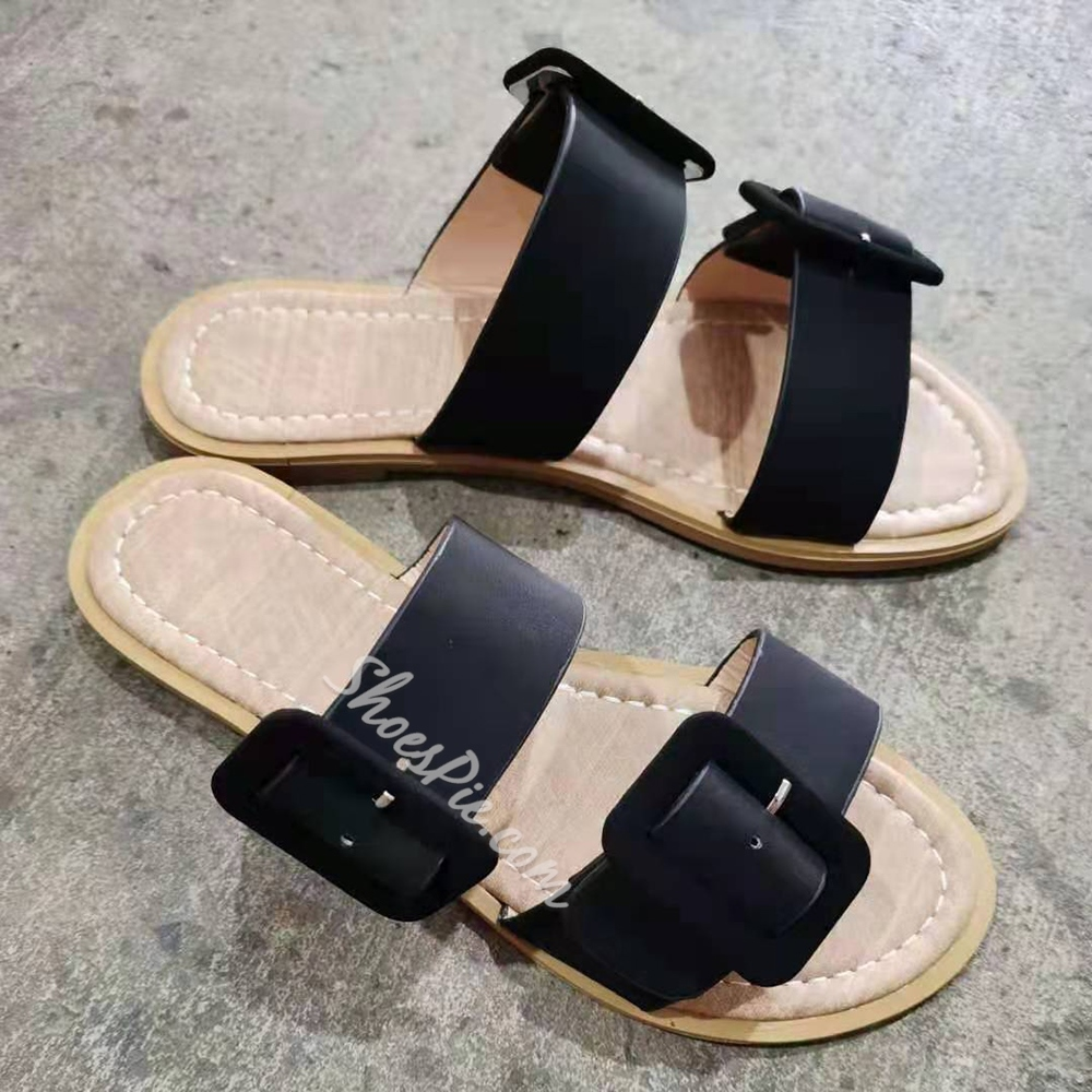 Shoespie Sexy Flat With Thread Flip Flop Casual Slippers