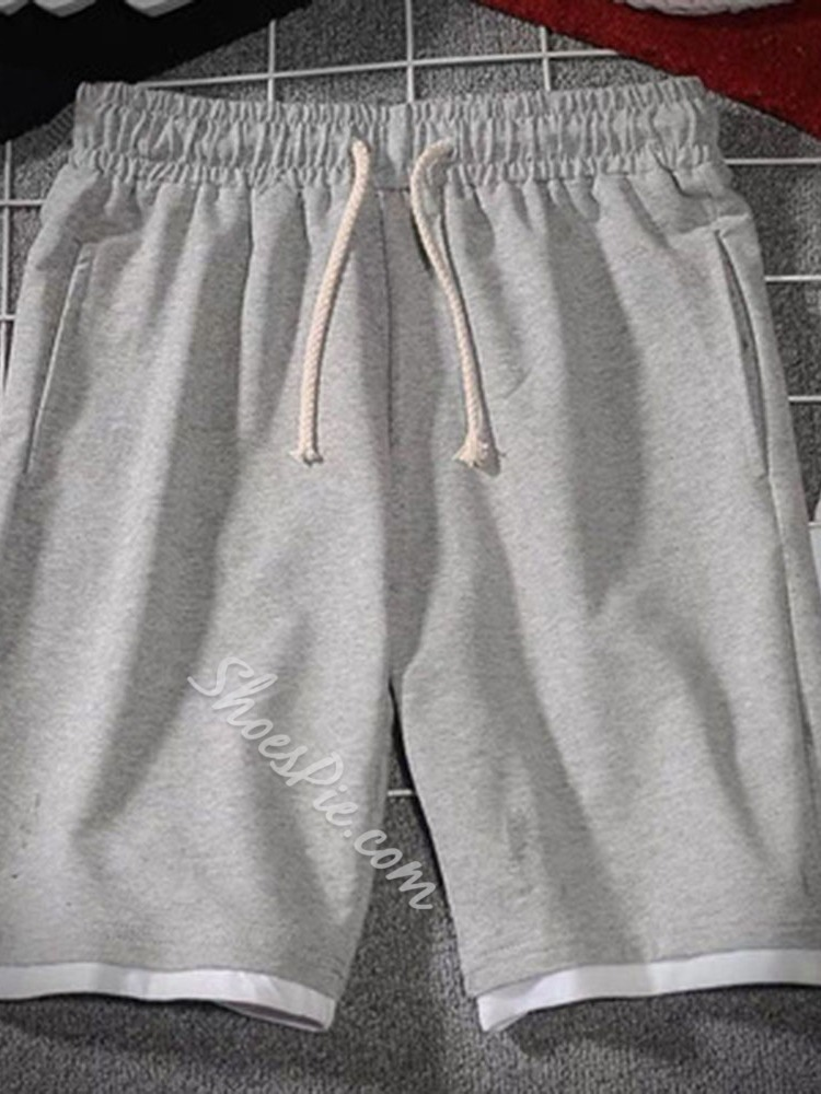 Lace-Up Straight Summer Lace-Up Casual Pants