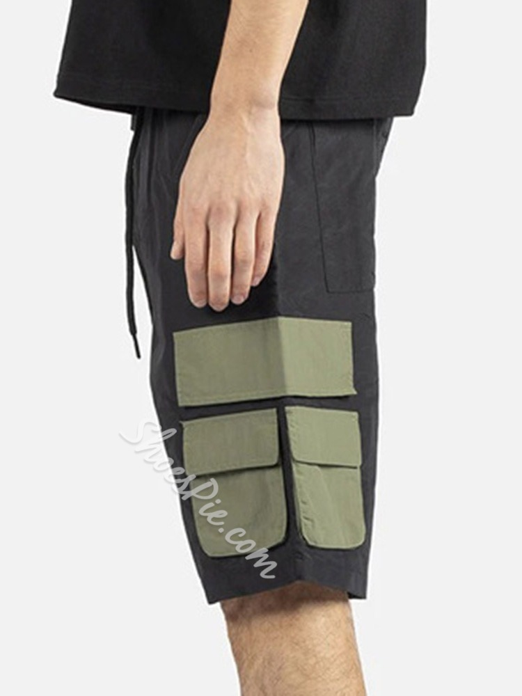 Straight Lace-Up Casual Lace-Up Casual Pants
