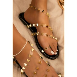 Shoespie Sexy Thong Flat With Slip-On Casual Sandals