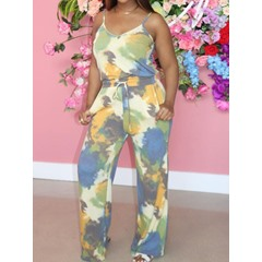 Pants Casual Print Pullover Women's Two Piece Sets