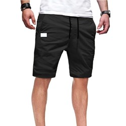 Pocket Straight Casual Lace-Up Casual Pants