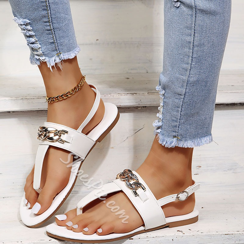 Shoespie Sexy Buckle Open Toe Casual Sandals