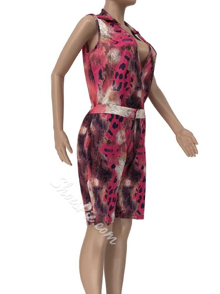Casual Print Floral Women's Two Piece Sets