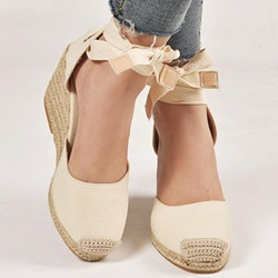 Shoespie Stylish Wedge Heel Round Toe Heel Covering Casual Sandals