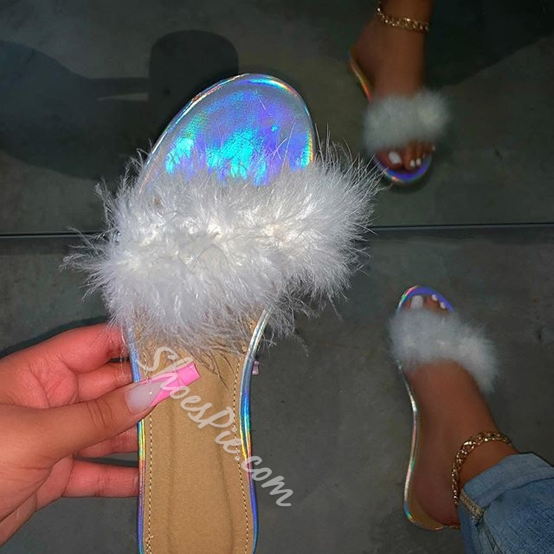 Shoespie Sexy Flat With Flip Flop 3D Casual Slippers