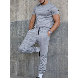 T-Shirt Casual Stripe Summer Outfit