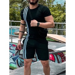 Casual T-Shirt Stripe Summer Outfit