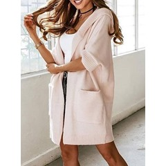 Pocket Thin Wrapped Fall Women's Sweater