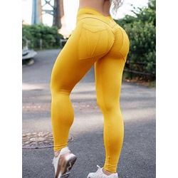 Solid Spring Female Pants