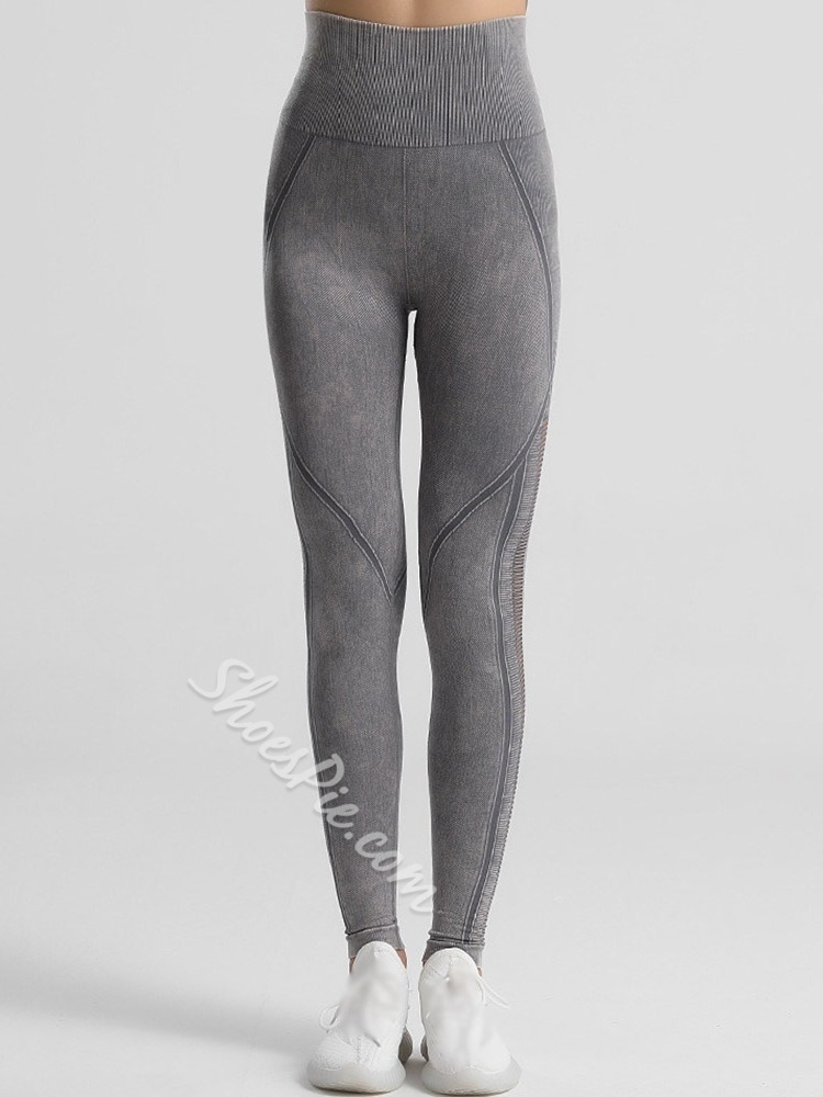 Solid Ankle Length Fall Pants