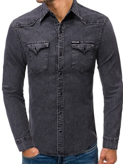 Lapel Casual Pocket Spring Single-Breasted Shirt