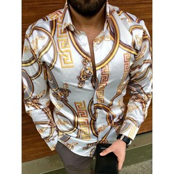 Color Block Fashion Lapel Spring Single-Breasted Shirt