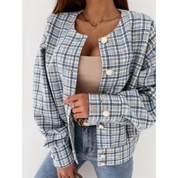 Long Sleeve Single-Breasted Thin Spring Women's Jacket