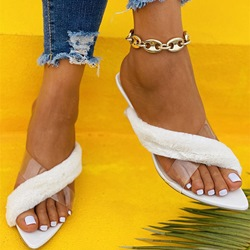 Shoespie Trendy Flat With Flip Flop Slip-On Summer Slippers