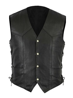 Button Plain Single-Breasted Spring Waistcoat