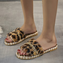 Shoespie Sexy Slip-On Sequin Flip Flop Rubber Slippers