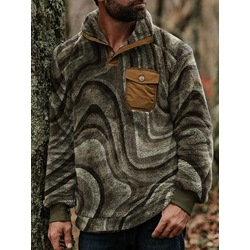 Pocket Thick Pullover Winter Casual Hoodies