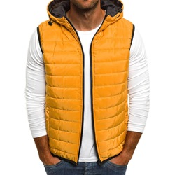 Thick Hooded Casual Winter Waistcoat