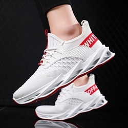 Shoespie Low-Cut Upper Flat With Sports Print Sneakers