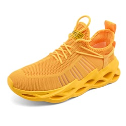 Shoespie Lace-Up Sports Low-Cut Upper Round Toe Sneakers