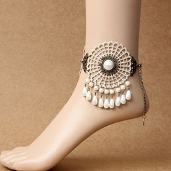 Shoespie Bohemia Style Pearl Anklet for Women