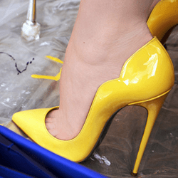 Shoespie Candy Color Stiletto Heels
