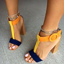 Shoespie Savvy Street Latin Style Dress Sandals