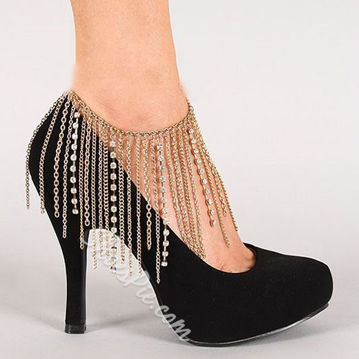 Shoespie Gorgeous Tassels Anklet