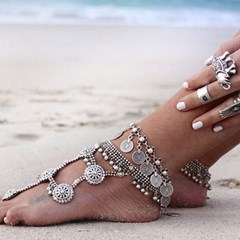 Shoespie Diamante Alloy Beautiful Anklets