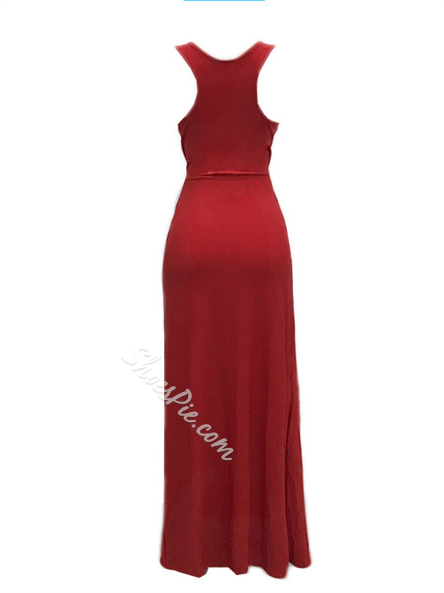Shoespie Single Plain Scoop Women's Bodycon Dress