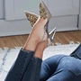Shoespie Sexy Pointed Toe Slip-On Stiletto Heels