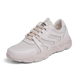 Shoespie Lace Up Round Toe Men's Sneakers