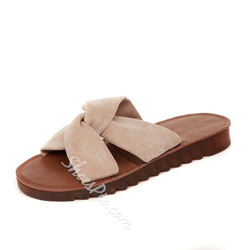 Shoespie Flat Hollow Summer Slippers